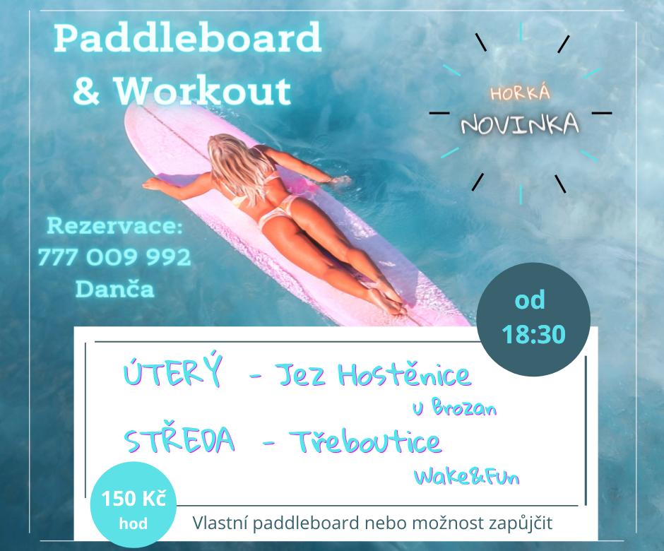 Paddleboardworkout
